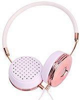 layla rose gold headphones