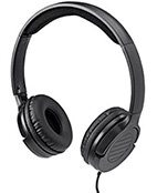 Monoprice Hi Fi Lightweight Solid Bass Clear and Articulate Acoustic On Ear Headphones