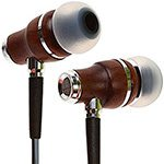 Symphonized NRG 3.0 Wood In-ear Noise-isolating Headphones