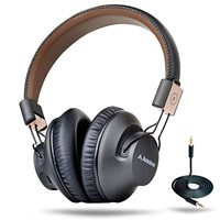 Avantree 40 hr Wireless Bluetooth 4.1 Over-the-Ear Foldable Headphones / Headset with Mic